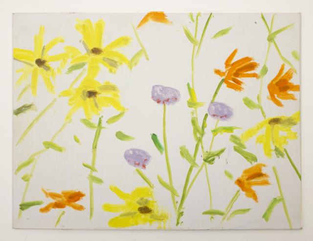 Alex Katz, 'Flowers 3', 2010, Peter Blum Gallery
