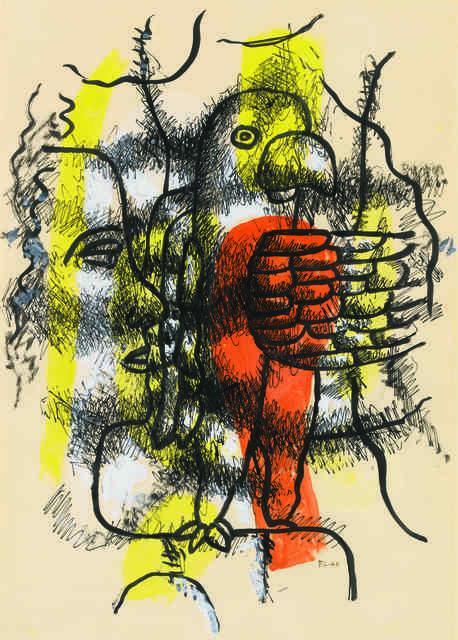 , 'Profil et perroquet,' 1940, Opera Gallery