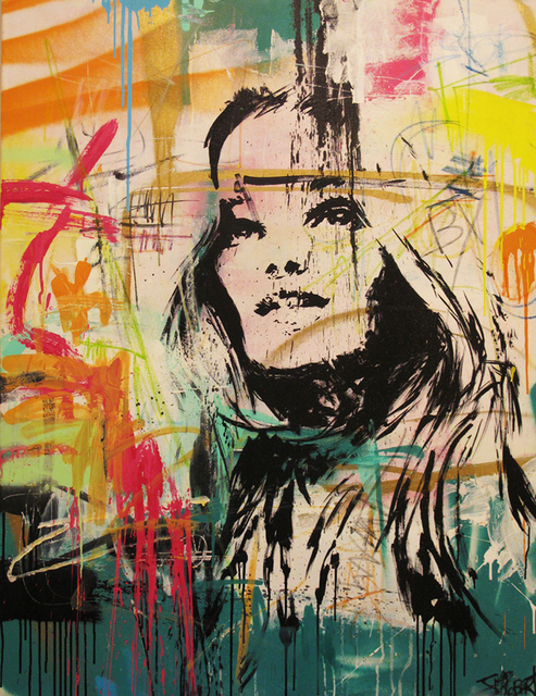 JM Robert, 'Jamais indiferente', 2013, Painting, Art Supermarket