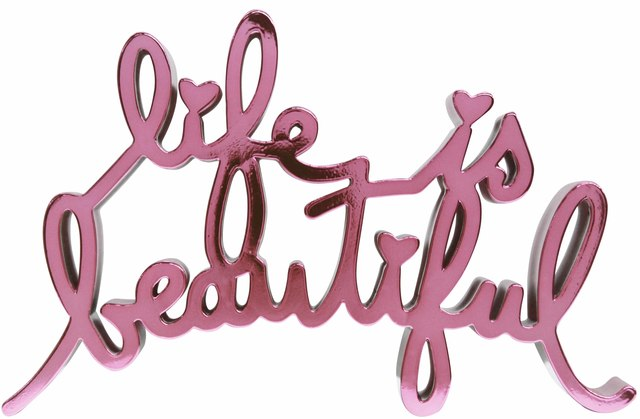 Mr. Brainwash, 'Life is Beautiful -Hard Candy Pink', 2017, Denis Bloch Fine Art
