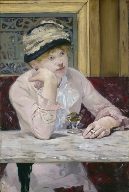 Édouard Manet, 'Plum Brandy', ca. 1877, Painting, Oil on canvas, National Gallery of Art, Washington, D.C.