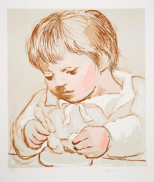 Pablo Picasso, 'Enfant Deieunant', 1973, RoGallery