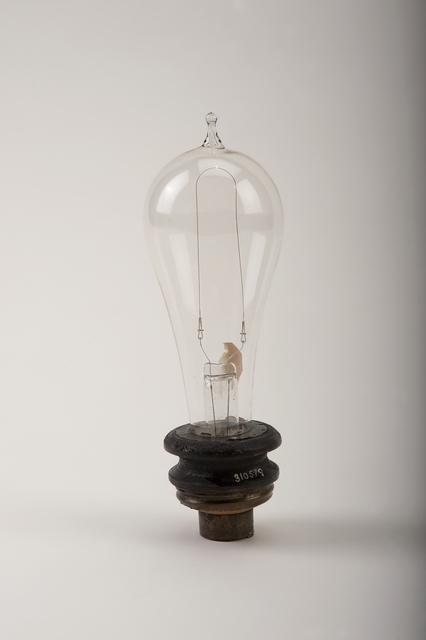 Thomas Alva Edison, 'Edison Lamp', 1880, Cooper Hewitt, Smithsonian Design Museum