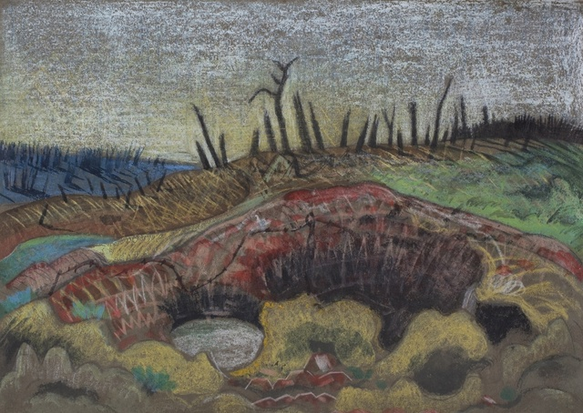 , 'A Farm, Wytschaete,' 1917, Piano Nobile