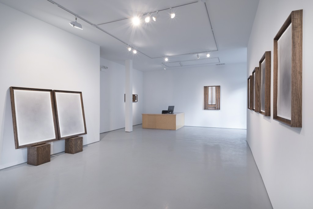 Nate Young, 'But not yet: in the spirit of linguistics', Installation view at moniquemeloche, February 2015