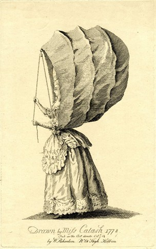 , 'Drawn by Miss Calash,' 1778, Les Arts Décoratifs
