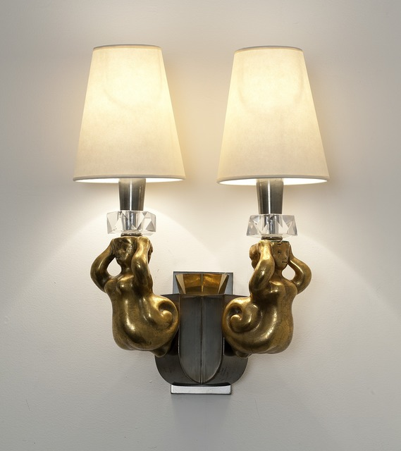, 'Pair of Sconces,' ca. 1955, Maison Gerard