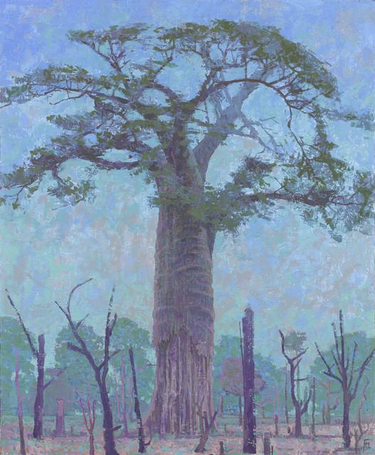 , 'Tall Baobab, South Luangwa, Zambia,' 2017, John Martin Gallery