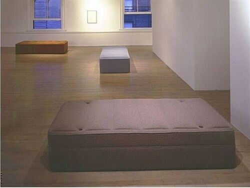 Rachel Whiteread, 'Daybed', 1999, The Missing Plinth