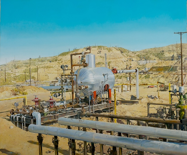 , 'GAS SEPARATOR, MIDWAY-SUNSET OIL FIELD,' 2016, Gallery NAGA