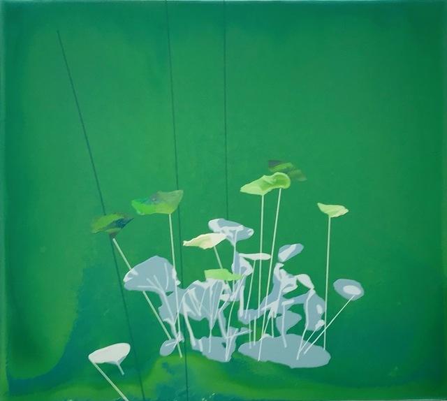 , 'Elemental (Green),' 2018, Eleanor Harwood Gallery
