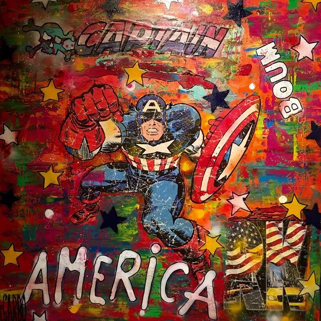 , 'Capitain America,' 2017, Samhart Gallery