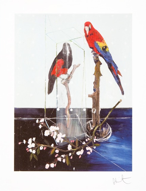 , 'Two Birds with Blossom (small),' 2012, Other Criteria