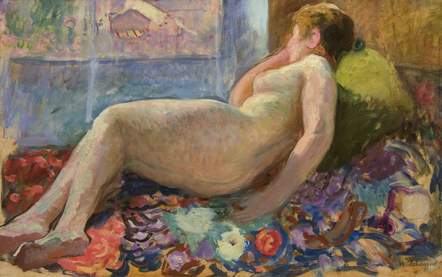 , 'Nu sur un divan,' ca. 1930, Guarisco Gallery
