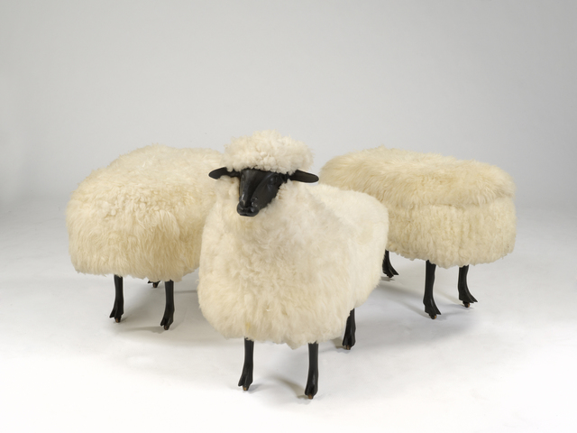 , 'Moutons de Laine (Group of 3),' 1965-1974, Robilant + Voena