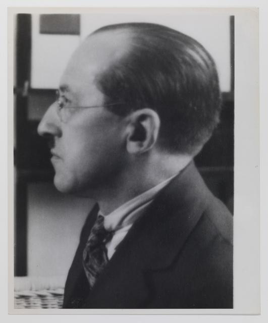 André Kertész, 'Piet Mondrian', 1926, Grob Gallery