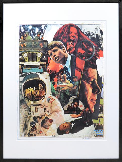 , 'Robert Rauschenberg, Signs, screenprint in colours, signed, 1970,' 1970, Shapero Modern