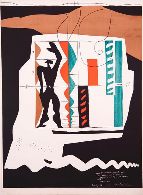 , 'Modulor,' 1950, Zuleika Gallery
