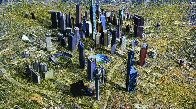 , 'Metropolis (video still),' 2008, ARTPORT making waves