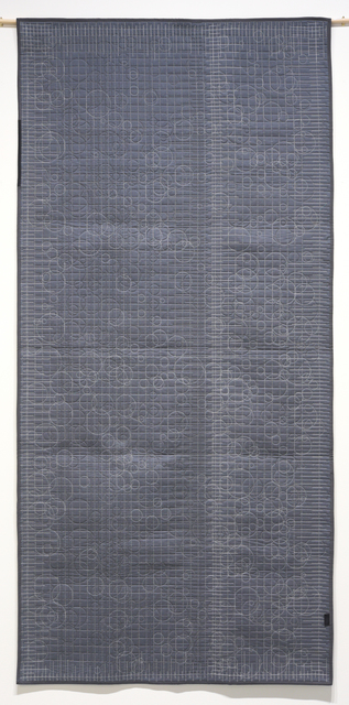 , 'Generative Textile Drawing (lg4),' 2018, Joseph Nease Gallery