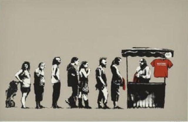Banksy, 'Festival / Destroy Capitalism ', 2006, Nine Way Fine Art