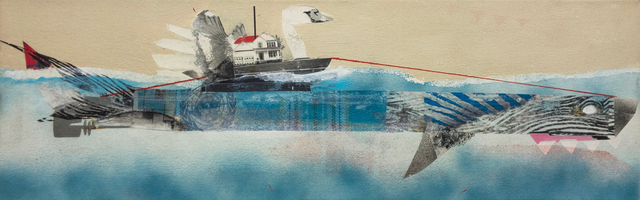 , 'Carrier Ship,' 2013, Roman Fine Art
