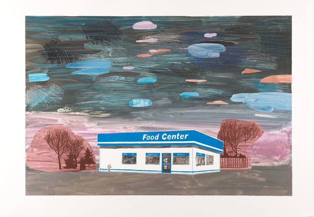 , 'Food Court,' 2017, Highpoint Editions