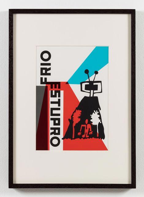 , 'O nome do medo (recorte): Frio e estupro / The Name of Fear (cut-out): Cold and Rape,' 2017, Stephen Friedman Gallery