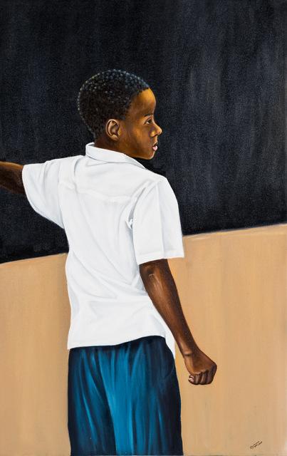 , 'Black Board,' 2017, Africa Bomoko