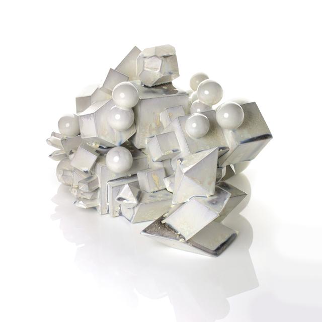 , 'White Magma Sculpture,' 2017, Adrian Sassoon