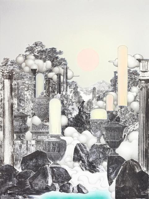 , 'Vista with Statue of Minerva,' 2017, The Contemporary London