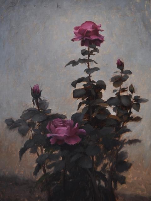 , 'Maroon,' 2018, Abend Gallery