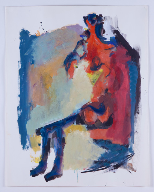 , 'Untitled (Seated Figure),' 1961, Frederick Holmes and Company
