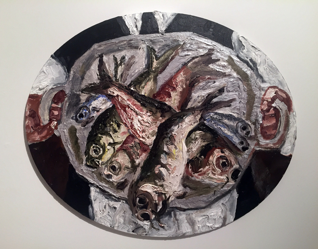 , 'Plate of Fish,' 2017, Hal Bromm