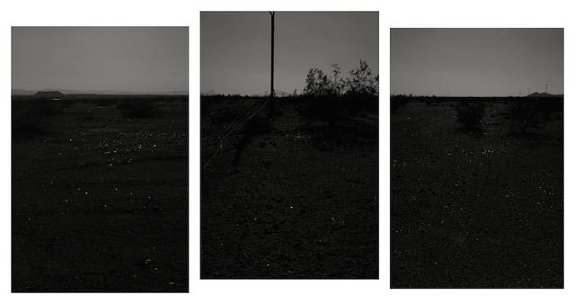 , 'Broken Glass (triptych),' 2015, Gallery Luisotti