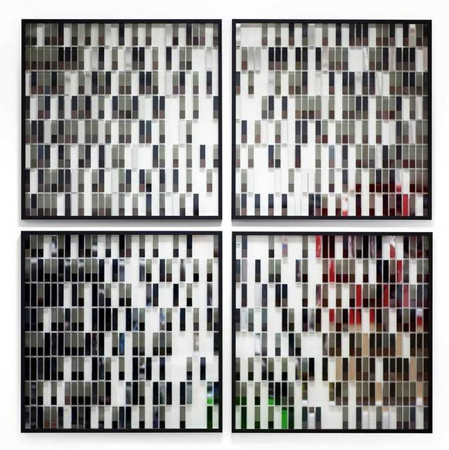 , 'Perceptual Mirror 0621 (Set of 4),' 2013, Shine Artists | Pontone Gallery