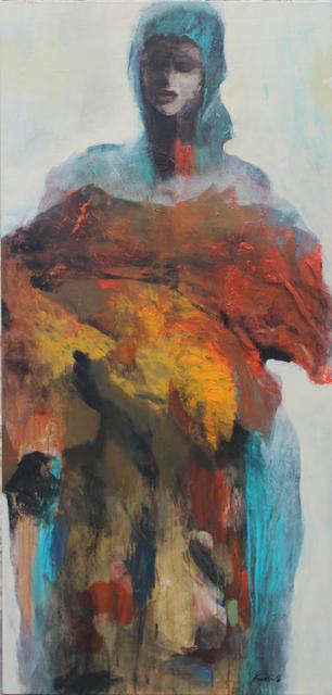 Khalid El-Khani, 'Blue Hair ', 2016, Orient Gallery