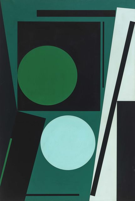 , 'Zwei Kreise,' 1958-1963, Sina Stockebrand Kunsthandel & Beratung