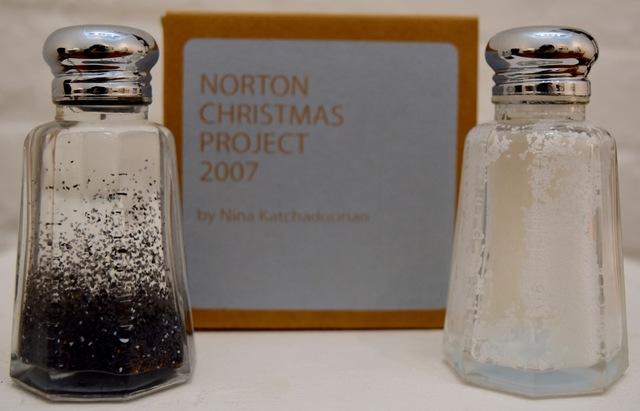 Nina Katchadourian, 'Salt and Pepper Shakers', 2007, International Studio & Curatorial Program
