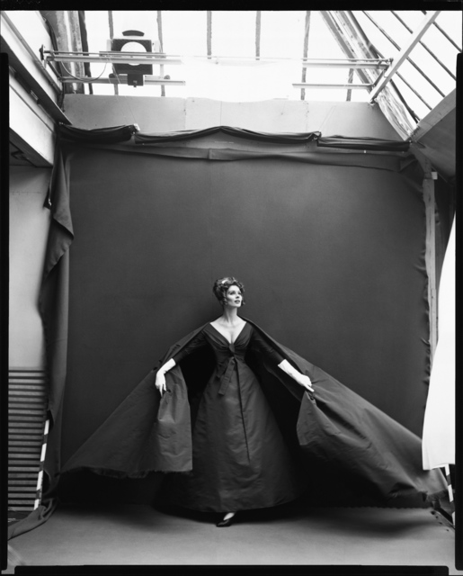 , 'Suzy Parker, Evening Dress by Dior, Paris Studio, Paris France, August 1956,' August 1956 / printed 1981, Fraenkel Gallery