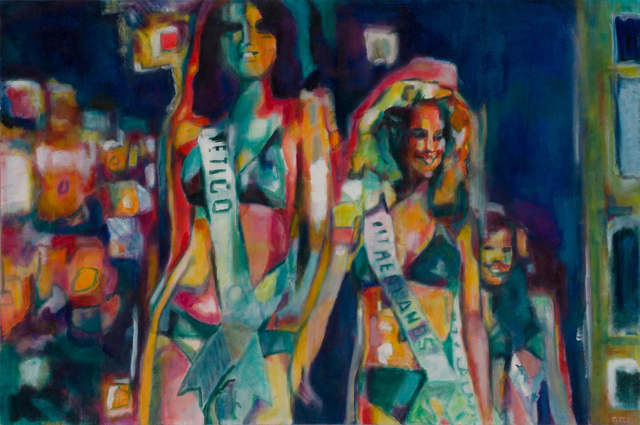 Daena Title, 'Parade', 2018, Painting, Oil on Canvas, Carter Burden Gallery