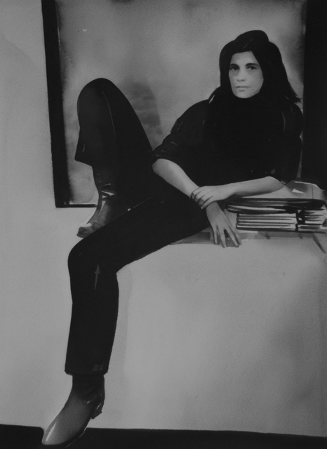 , 'Susan Sontag (from the series Female Heroes),' 2019, Christine König Galerie