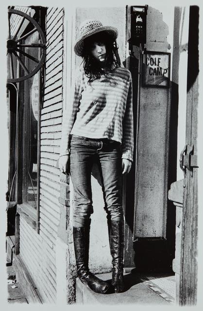 Gerard Malanga, 'Patti Smith Tomboy', 1971, Phillips
