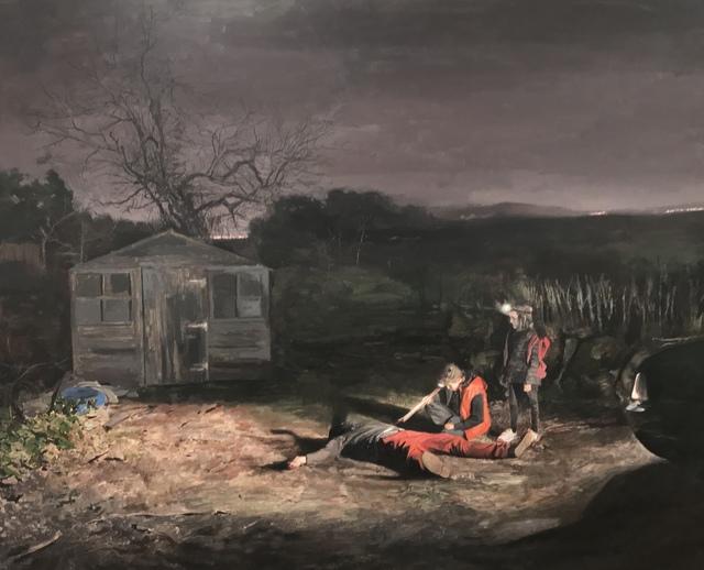 , 'Las cosas interesantes siempre pasan de noche ,' , Galeria Contrast