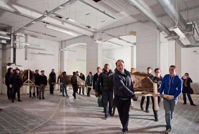 Simon Fujiwara, 'New Pompidou (Performance)', 2014, Fondation d'Entreprise Galeries Lafayette