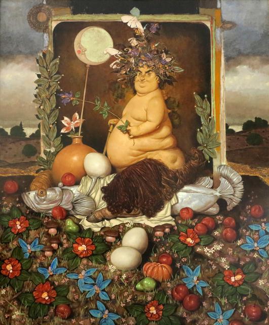 ", '""Bacchus № III"" /""Baküs № III"",' 2014, Galeri 77"