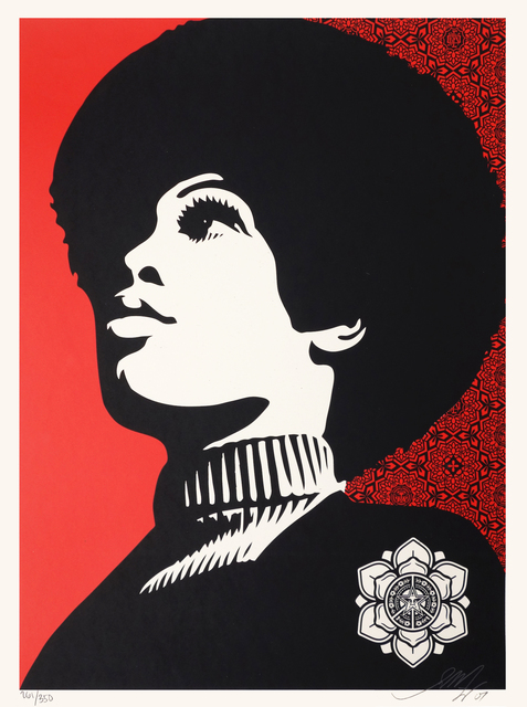 Shepard Fairey, 'Panther Power', 2007, Oliver Clatworthy Gallery Auction