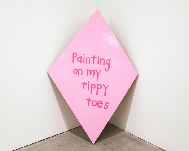 , 'Painting on My Tippy Toes,' 2013, Fleisher/Ollman