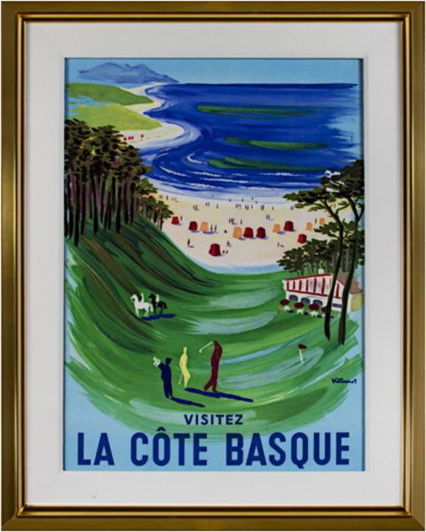 Bernard Villemot, 'La Cote Basque', 1969, David Barnett Gallery