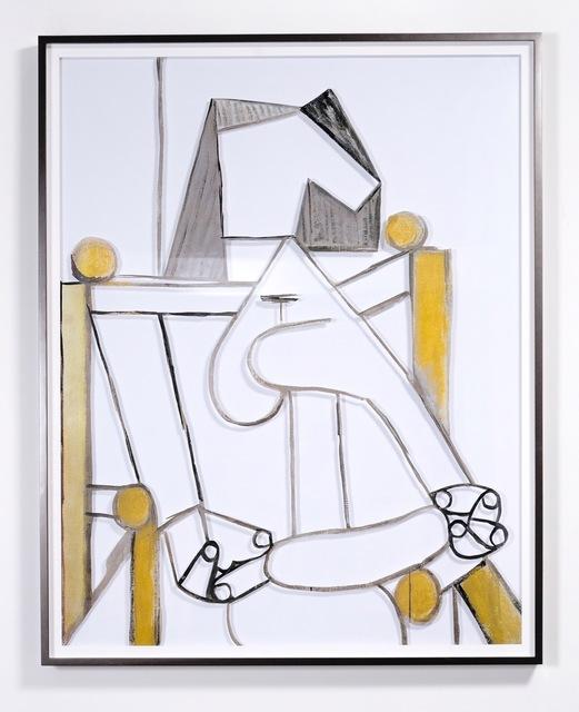 , 'Untitled (Femme assise à l´abécédaire),' 2018, Sean Kelly Gallery